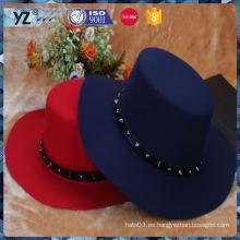 Últimos productos de diseño de larga duración uniforme sombreros de las mujeres para la promoción