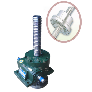 Wholesale Distributors for Worm Gear Ball Screw Jack motorized jack screw worm gear lift  machine ball screw jack supply to Japan Factories