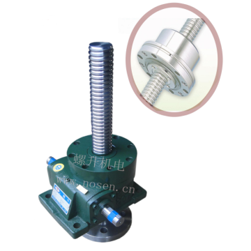 high accuracy 2 ton left hand ball screw jack