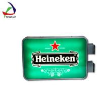 Venda quente publicidade levou caixa de luz pmma vácuo formando publicidade placa de caixa de luz OEM design