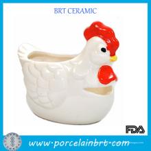 Séparateur d'oeuf de Cermaic de forme de poulet d'innovation