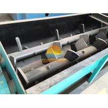 Chine De Bonne Qualité Machine horizontale de mélangeur de palette d'axe double à vendre