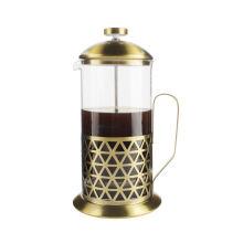 Cadeau de Noël Amazon New Style Café de presse française résistant à la chaleur Café, Espresso et Tea Maker