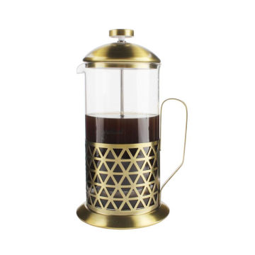Christmas Gift Amazon New Style Heat-resistant French Press Coffee, Espresso and Tea Maker