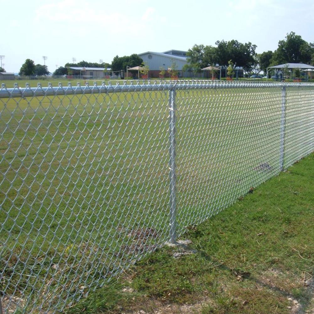 China Diamond Woven Wire Mesh Chain Link Fence Manufacturers