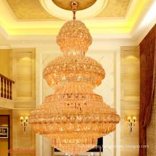 Classical vintage crystal chandelier pendant light for hotel Lobby LT-63021