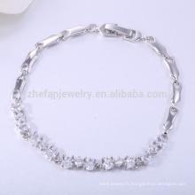 925 bracelet en argent sterling bijoux et bague définit bracelet en cuivre fait main