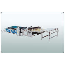 multi-functional semi-automatic pasting and punch machine