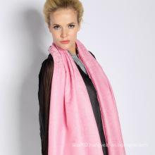 Silk & Acrylic Jacquard Scarf (12-BR010220-20.1)