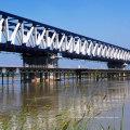 Fácil montagem da ponte de estrutura de aço