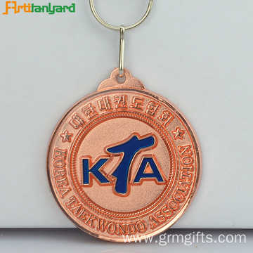 Custom Medallions With Plating Color