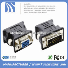Monitor adapter 24+5 Pin Male To 15 Pin VGA Female Adapter Convertor