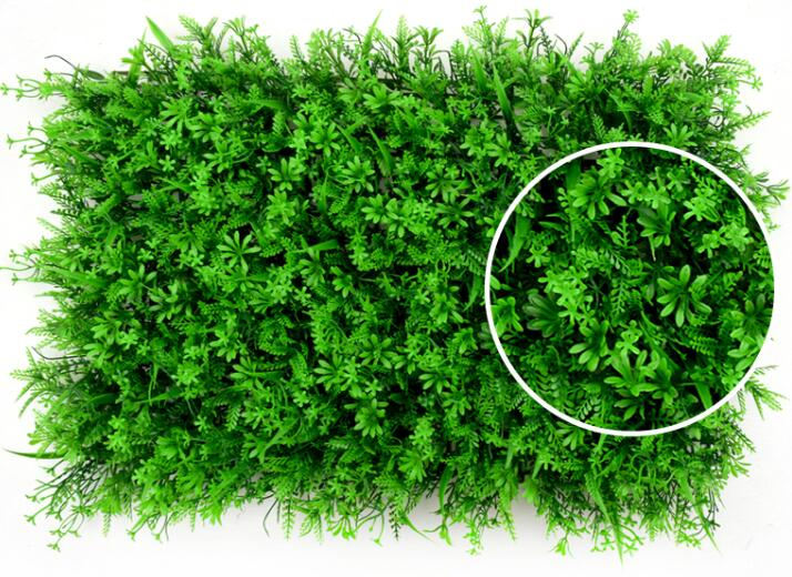 Garden Vertical Artificial Green Wall For Decoration