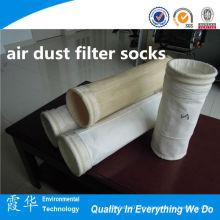 Proceso de molienda tela no tejida filtro de polvo de aire calcetines