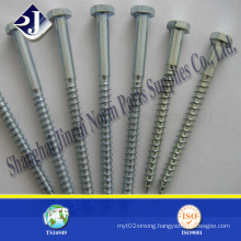 Steel Hex Head Wood Screw
