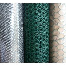 PVC coated galvanized hexagonal wire mesh netting