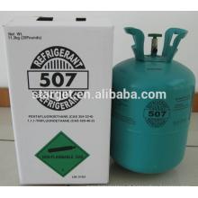 Melhor qualidade NOVO HFC r507 gás