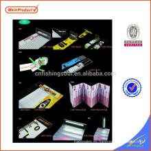 FSFR002 weihai pesca regla de plástico plegable regla electrónica electrónica personalizada