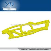 Partie en aluminium fraisé CNC avec anodisation