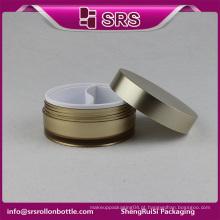 Embalagem de amostra cosmética e creme de olho frascos de plástico recipiente, recipiente de tratamento de olho para os olhos
