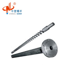 nitriding 38CrMoAIA single extruder screw and barrel for PE PP
