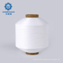 Free sample 100% recycled polyester yarn With GRS for woven label