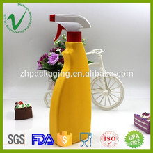 top quality washing detergent use 500ml HDPE spray plastic bottle for household use