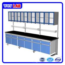 Laborausrüstung Wand Arbeit Bank und Schrank