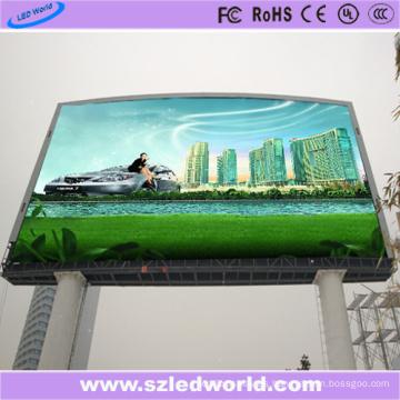 Panel de visualización a todo color de la exploración P10 al aire libre 1/2 para la publicidad