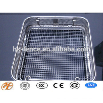 stainless steel fruit wire mesh basket direct factory