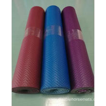 NBR double color embossed sports mat