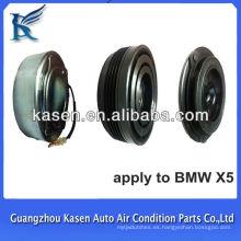 Compresor de aire comprimido embrague magnético 4pk polea para BMW