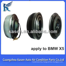 air con ac compressor magnetic clutch assembly 4pk pulley for BMW