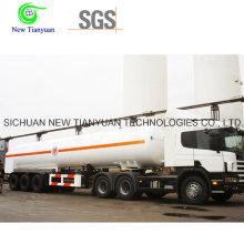 Semi-remolque de tanque de líquido de 40 pies de LNG