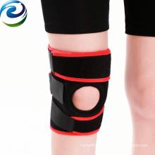 Melhor venda de grau médico suporte de cinta de joelho para basquete usando