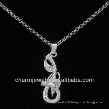 2013 Solid CZ Silver Jewelry Pendant PSS-022