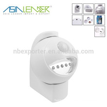 newest & hot!!! indoor & outdoor 5 led motion sensor light