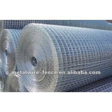 Malla de alambre soldada galvanizada eléctrica de la fuente de la fabricación