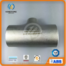 Tubería de acero inoxidable Wp304 / 304L que cabe la camiseta de Euqal con ISO9001: 2008 (KT0327)