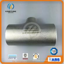Из нержавеющей стали Wp304/Труба 304l Сторона Равнопрочности Тройник с ISO9001: 2008 (KT0327)
