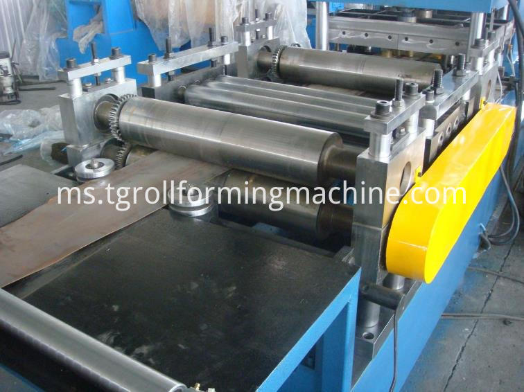 Steel C Purlin Roll Forming Machine
