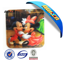 Top Quality 3D Plastic Cup Coaster