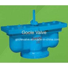 Válvula de ventilação de ar automática de orifícios duplos