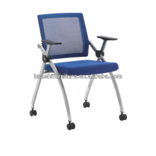 T-083SHL new design mesh folding visitor chair
