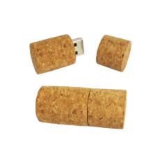 Customized Laser Logo cork 16GB 32 GB USB Pendrive,Wooden wine stopper shape USB2.0