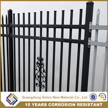 Garden Green Artificial Hedge Steel Iron Screening Garden Fence Design