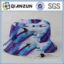 Оптовая хлопка печати пользовательских ковш Hat / Дешевые Hat ведро