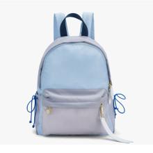 Sport style nylon material backpack shool bag