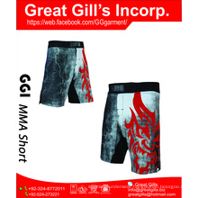 MMA short / boxing MMA short / MMA 4-way stretch mens crossfit shorts