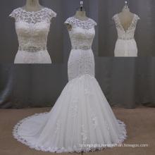 Trendy Tulle Sweetheart Strapless Mermaid Wedding Dress